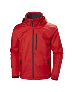 Kurtka CREW HOODED JACKET MEN alert red