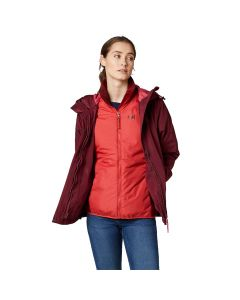 Kurtka 3w1 SQUAMISH CIS JACKET WOMEN cabernet