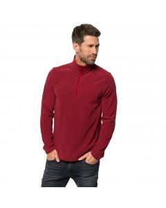 Bluza polarowa męska ZERO WASTE REBEL M dark lacquer red