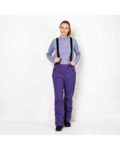 Spodnie EXOLIGHT PANTS WOMEN dark violet
