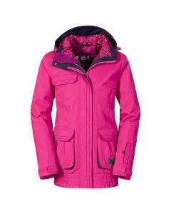 Kurtka dziewczęca narciarska TILDA SKI JACKET pink passion