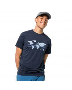 T-shirt męski JWP WORLD T M night blue