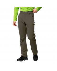 Spodnie softshellowe męskie ACTIVATE XT MEN grape leaf