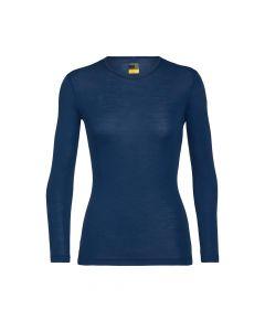 Koszulka termoaktywna damska Icebreaker 175 EVERYDAY LS CREWE estate blue