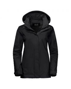 Damska kurtka przeciwdeszczowa HIGHLAND WOMEN black
