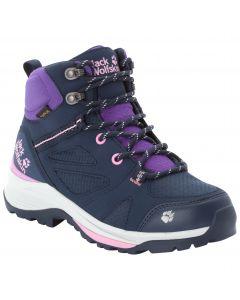 Buty w góry dla dzieci FORCE STRIKER TEXAPORE MID K dark blue / purple