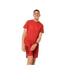 Koszulka męska SIERRA T M lava red