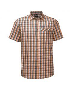 Koszulka NAPO RIVER SHIRT desert orange checks
