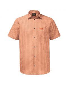 Koszulka EL DORADO SHIRT MEN desert orange checks