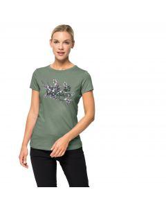 T-shirt damski LOGO T W ming green