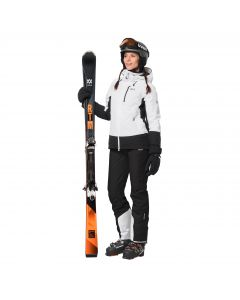 Kurtka narciarska zimowa BIG WHITE JACKET W white rush