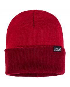 Czapka Jack Wolfskin RIB HAT indian red