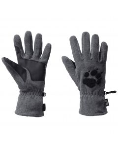 Rękawiczki polarowe PAW GLOVES grey heather