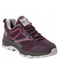 Buty damskie DOWNHILL TEXAPORE LOW W burgundy / pink