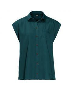 Damska koszulka MOJAVE SHIRT teal green