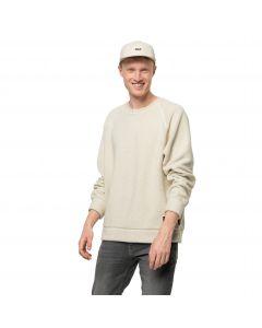 Bluza polarowa męska NATURE LIFE PULLOVER M White Sand