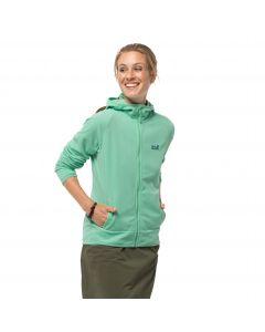 Polar damski ARCO JACKET WOMEN pacific green stripes