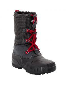 Buty zimowe dziecięce ICELAND TEXAPORE HIGH K black / red