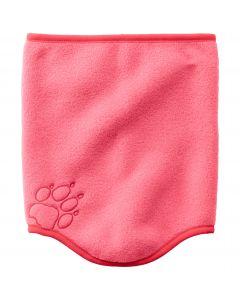 Szalik-komin dla dzieci BAKSMALLA FLEECE LOOP KIDS coral pink