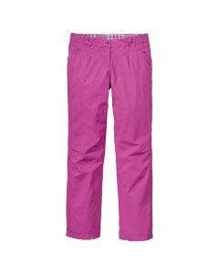 Spodnie YOKE PANTS WOMEN dahlia