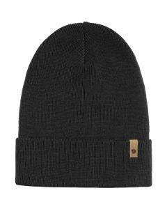 Czapka zimowa Fjallraven Classic Knit Hat black