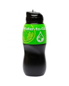 Butelka osobista z filtrem i ustnikiem - bidon 75CL (0,75 Lit.) green