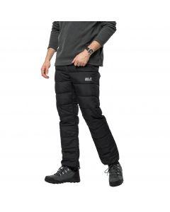 Spodnie ocieplane męskie ATMOSPHERE PANTS MEN Black
