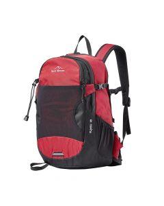 Plecak turystyczny RAGO 18 SOLID red/black