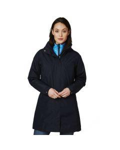 Płaszcz przeciwdeszczowy damski Helly Hansen W ADEN LONG COAT navy