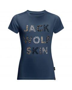 T-shirt dla dzieci WILD T KIDS dark indigo