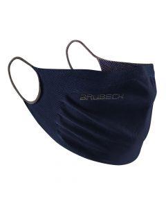 Maseczka antywirusowa wielorazowa Brubeck FM10060 navy blue
