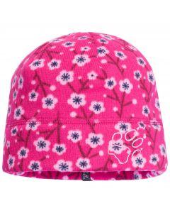 Czapka dziecięca PRINT CAP KIDS pink fuchsia allover