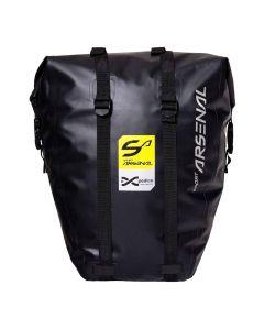 Wodoszczelna sakwa rowerowa boczna na bagażnik SPORT ARSENAL 312 EXPEDICE 20 L black