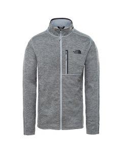 Bluza techniczna The North Face CANYONLANDS FULL ZIP medium grey