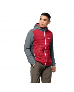 Kurtka polarowa CROSSING PEAK JKT M storm grey