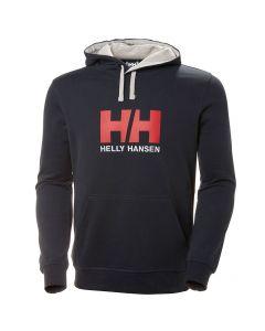 Męska bluza Helly Hansen LOGO HOODIE navy