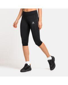 Damskie legginsy do biegania Odlo Essentials Soft 3/4 Tights black