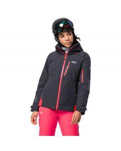Kurtka narciarska damska SNOW SUMMIT JACKET W ebony