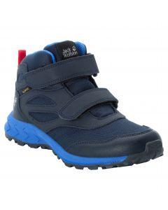 Buty dla dzieci WOODLAND TEXAPORE MID VC K Dark Blue / Red