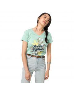 T-shirt damski AT HOME T W light jade