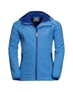 Dziewczęca kurtka softshell WHIRLWIND JACKET GIRLS zircon blue