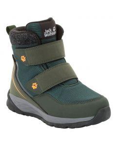 Buty dla dzieci zimowe POLAR BEAR TEXAPORE MID VC K dark green / grey