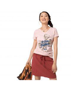T-shirt damski AT HOME T W blush pink