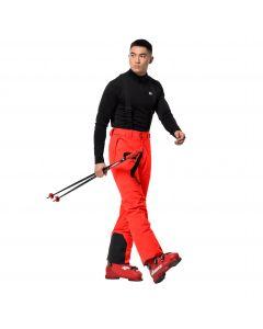 Spodnie narciarskie męskie GREAT SNOW PANTS M flashing red