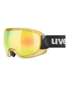 Gogle narciarskie UVEX CONTEST FM yellow-chrome