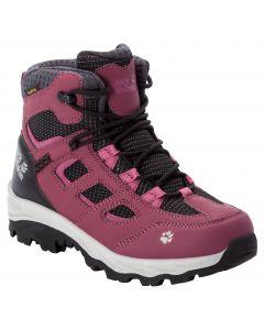 Buty turystyczne dziecięce VOJO TEXAPORE MID K dark red / purple