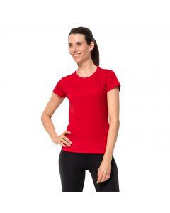 Damski T-shirt SKY RANGE T W red fire
