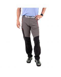 Spodnie męskie VINO grey/red zips