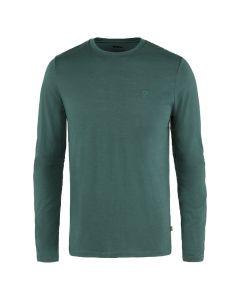 Męska koszulka Fjallraven Abisko Wool LS arctic green