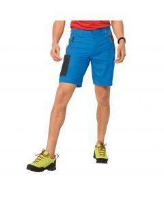 Krótkie spodenki męskie ACTIVE TRACK SHORTS MEN brilliant blue
